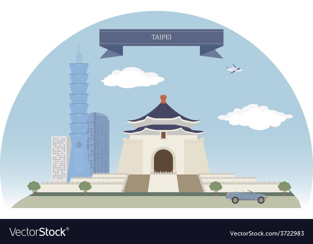 Taipei vector | Price: 1 Credit (USD $1)