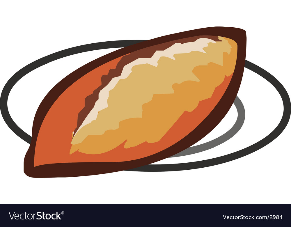 Baked bread vector | Price: 1 Credit (USD $1)