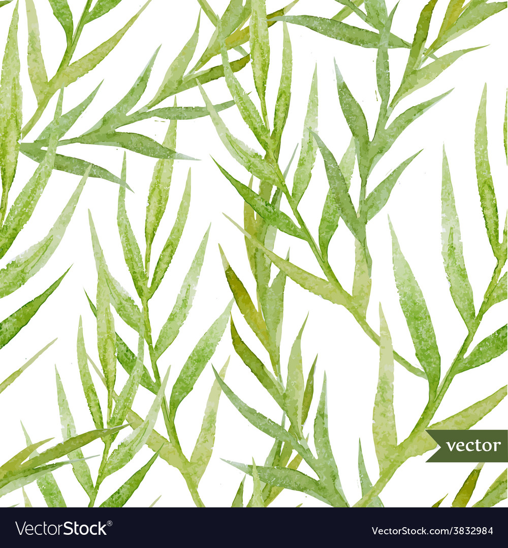 Green leafs vector | Price: 1 Credit (USD $1)
