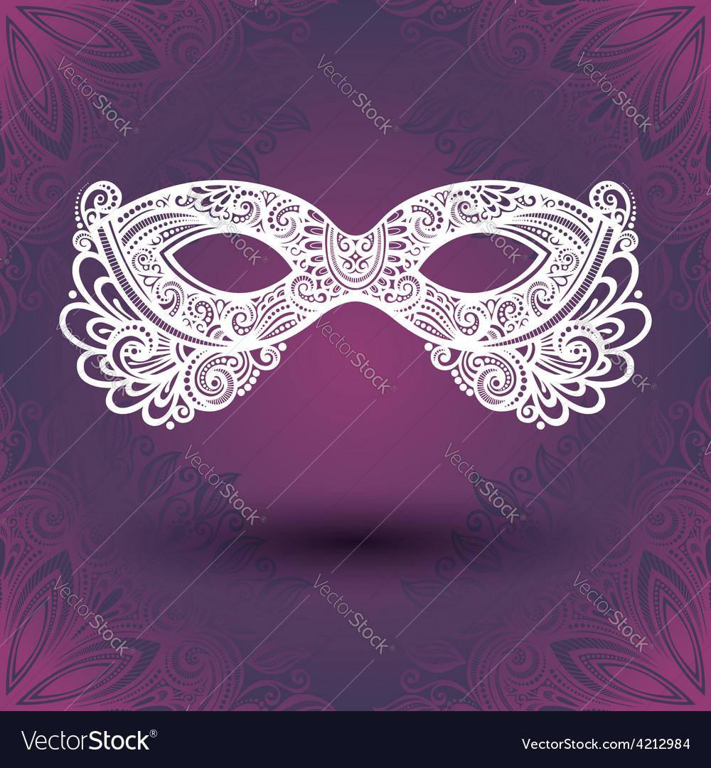Masquerade mask design vector | Price: 1 Credit (USD $1)