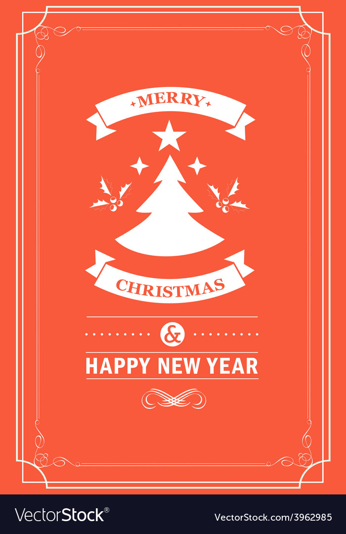Christmas party invitation vector | Price: 1 Credit (USD $1)