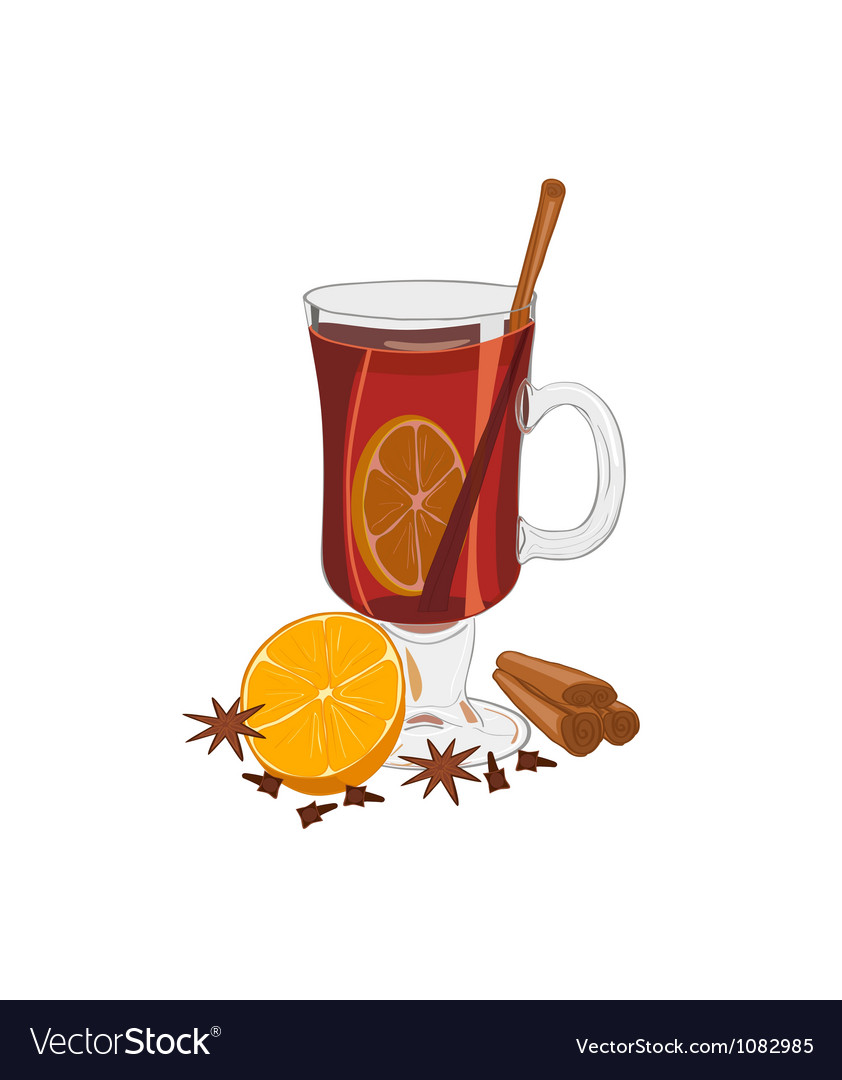 Hot mulled wine vector | Price: 1 Credit (USD $1)