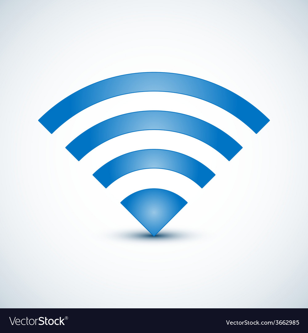 Wireless nerwork symbol vector | Price: 1 Credit (USD $1)