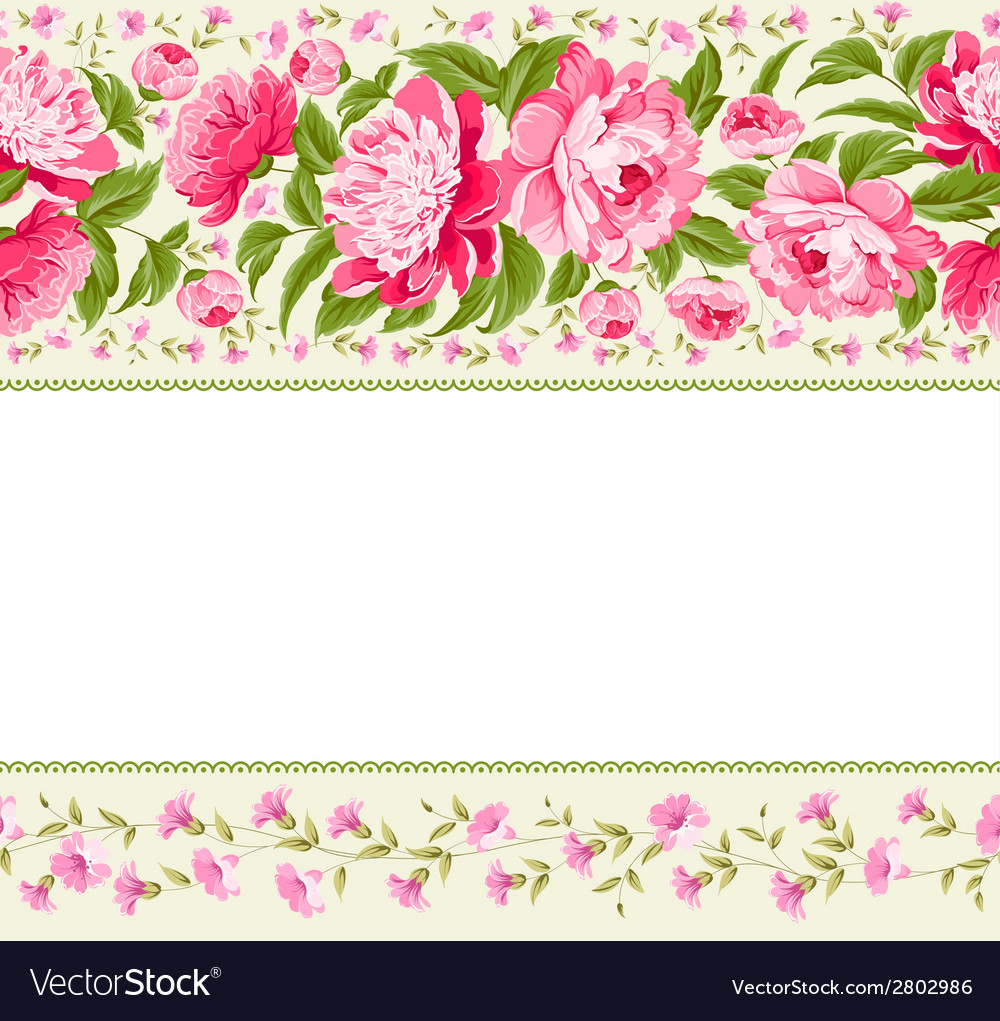Beautiful peonies vector | Price: 1 Credit (USD $1)