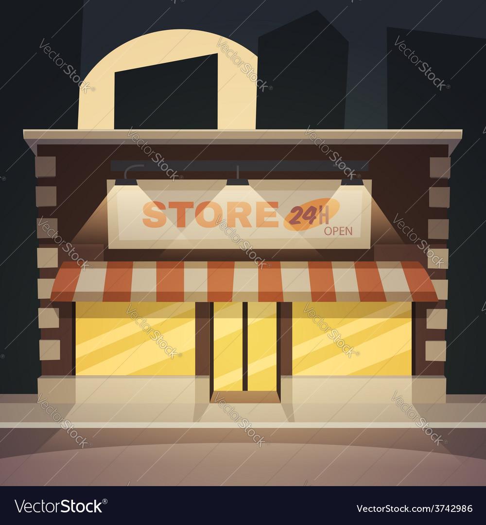 Cartoon store vector | Price: 3 Credit (USD $3)