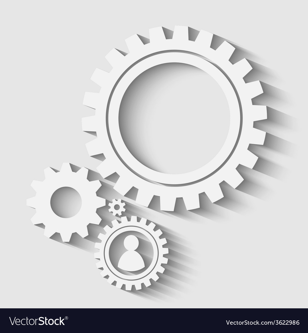 Gears back vector | Price: 1 Credit (USD $1)