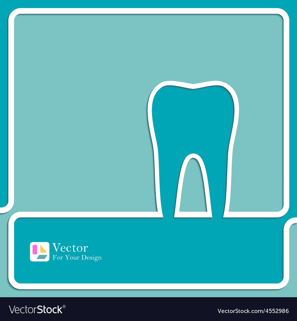 Symbol for dental clinic vector | Price: 1 Credit (USD $1)