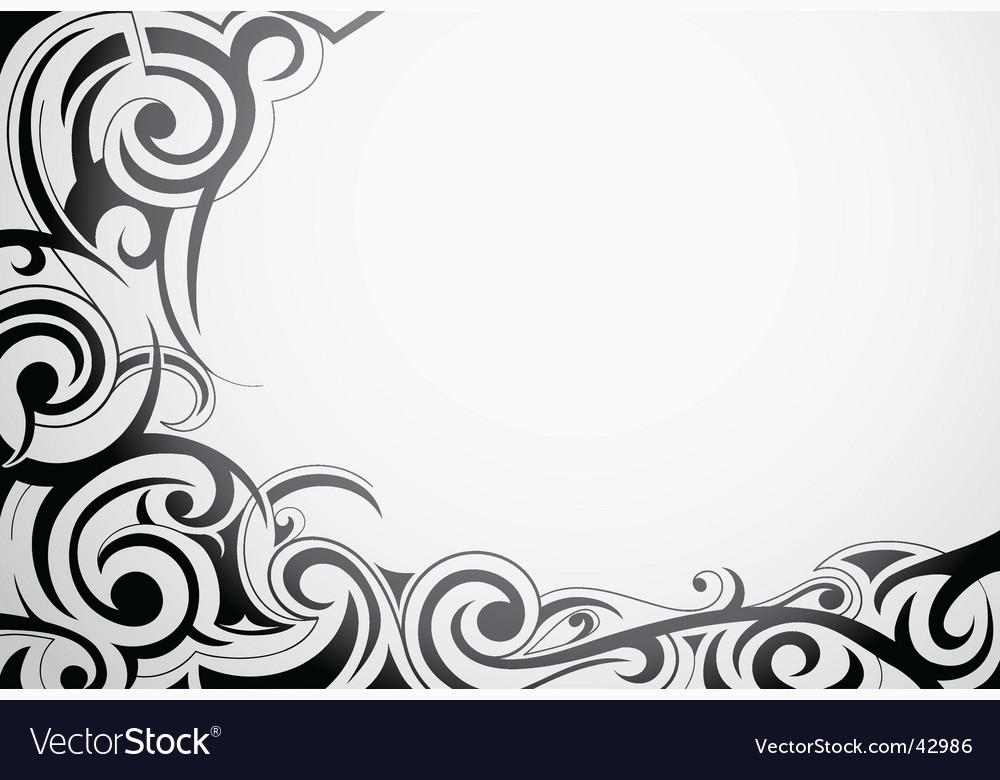 Tribal art ornament vector | Price: 1 Credit (USD $1)