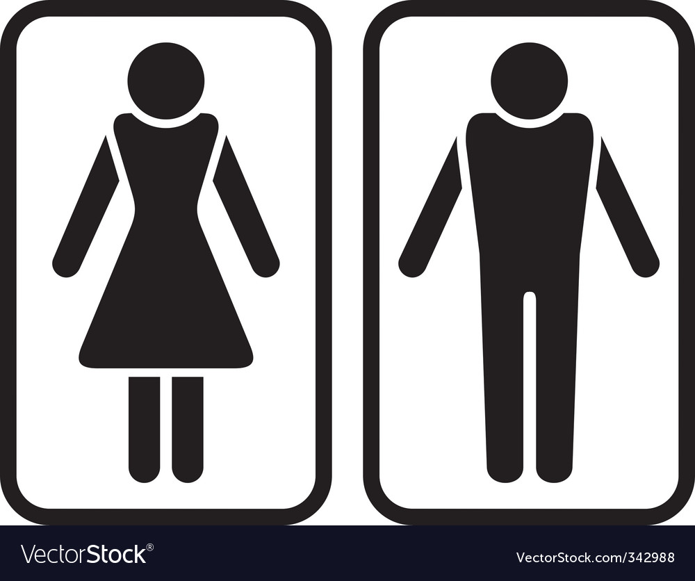 Male amp female symbol vector | Price: 1 Credit (USD $1)
