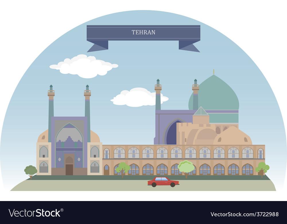 Tehran vector | Price: 1 Credit (USD $1)