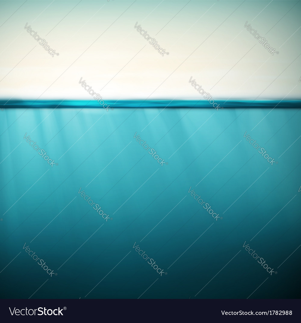 Underwater background vector | Price: 1 Credit (USD $1)