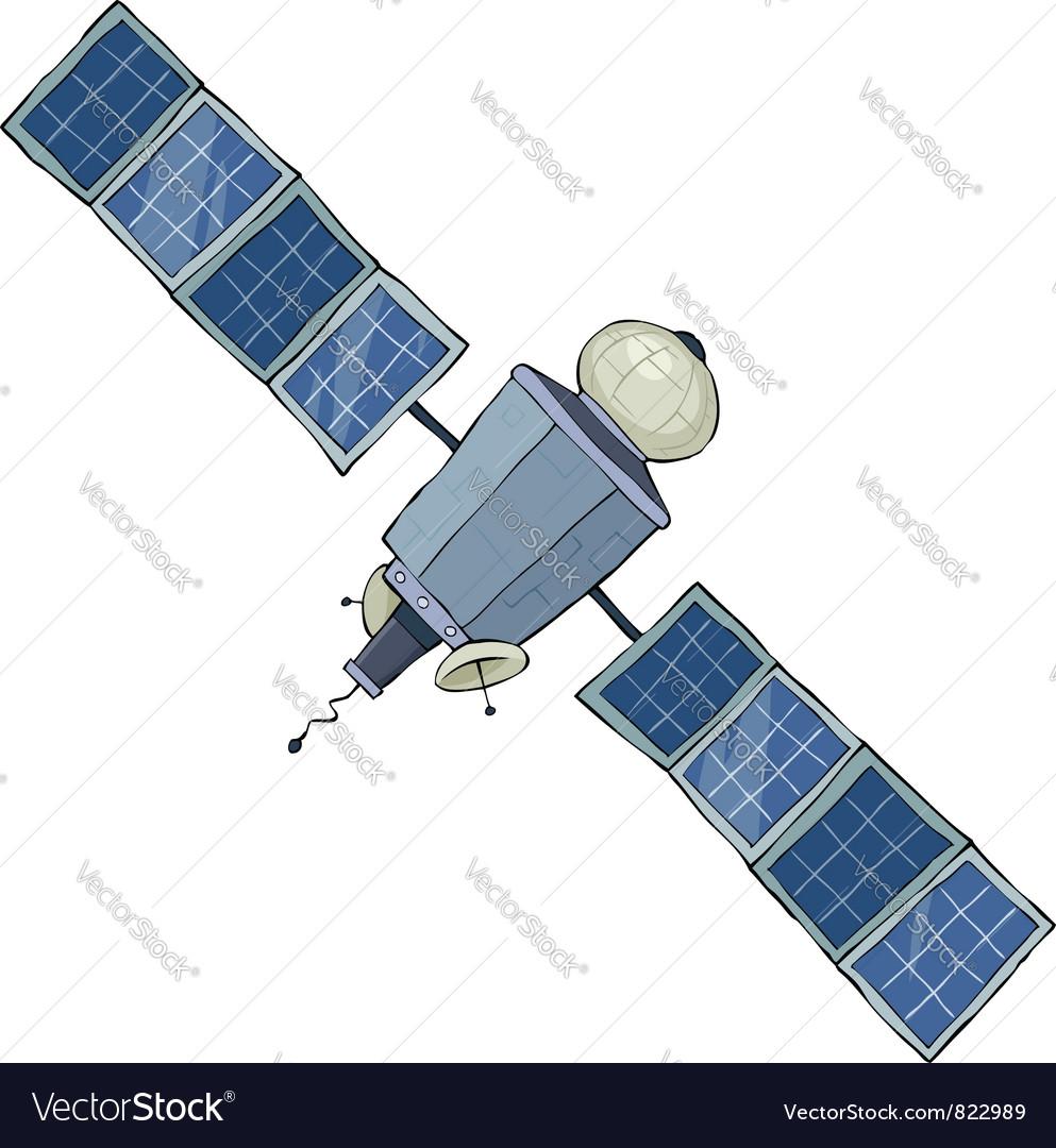 Satellite vector | Price: 3 Credit (USD $3)