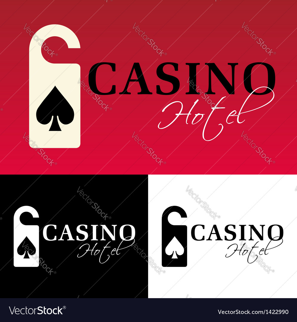 Hotel casino logo vector | Price: 1 Credit (USD $1)