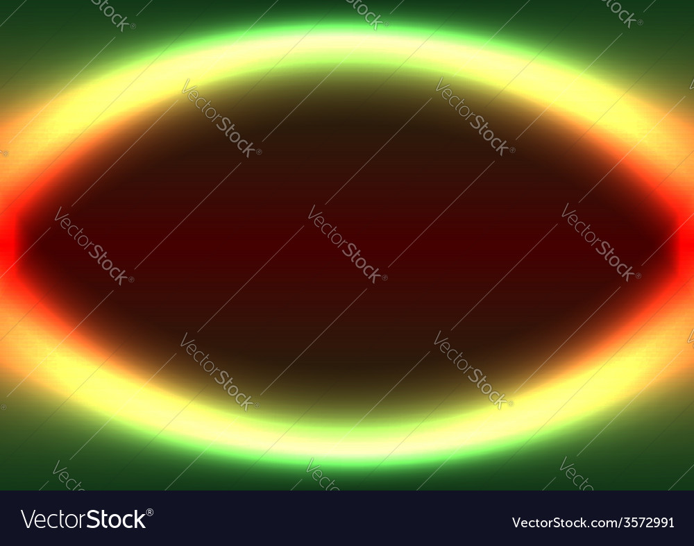 Abstract shiny ellipse frame vector | Price: 1 Credit (USD $1)