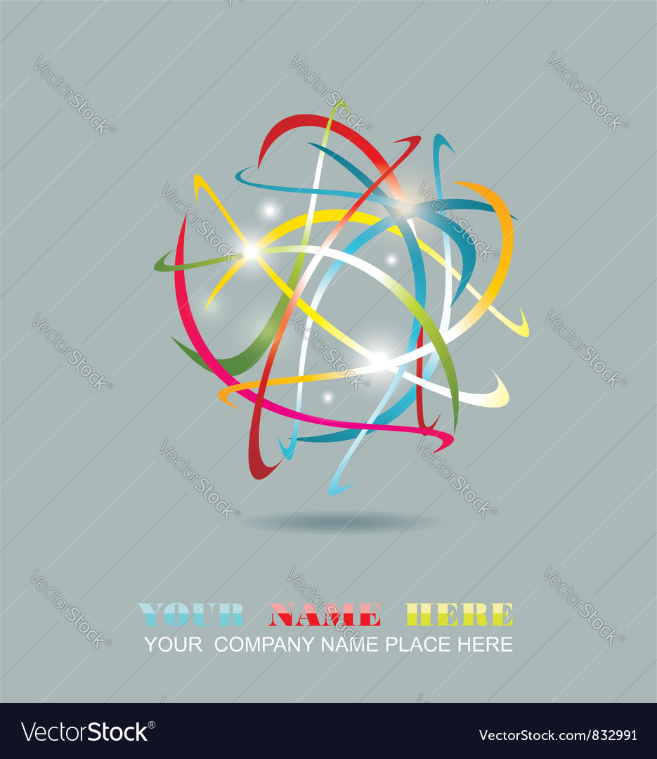 Business abstract icon vector   Price: 1 Credit (USD $1)