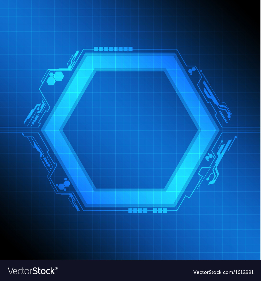 Polygon frame modern design vector   Price: 1 Credit (USD $1)