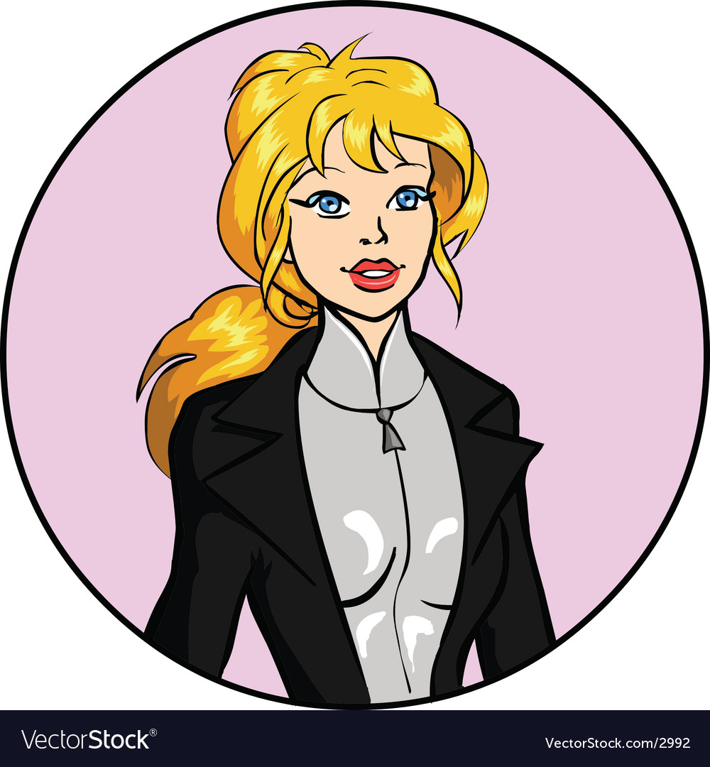 Businesswoman vector | Price: 3 Credit (USD $3)