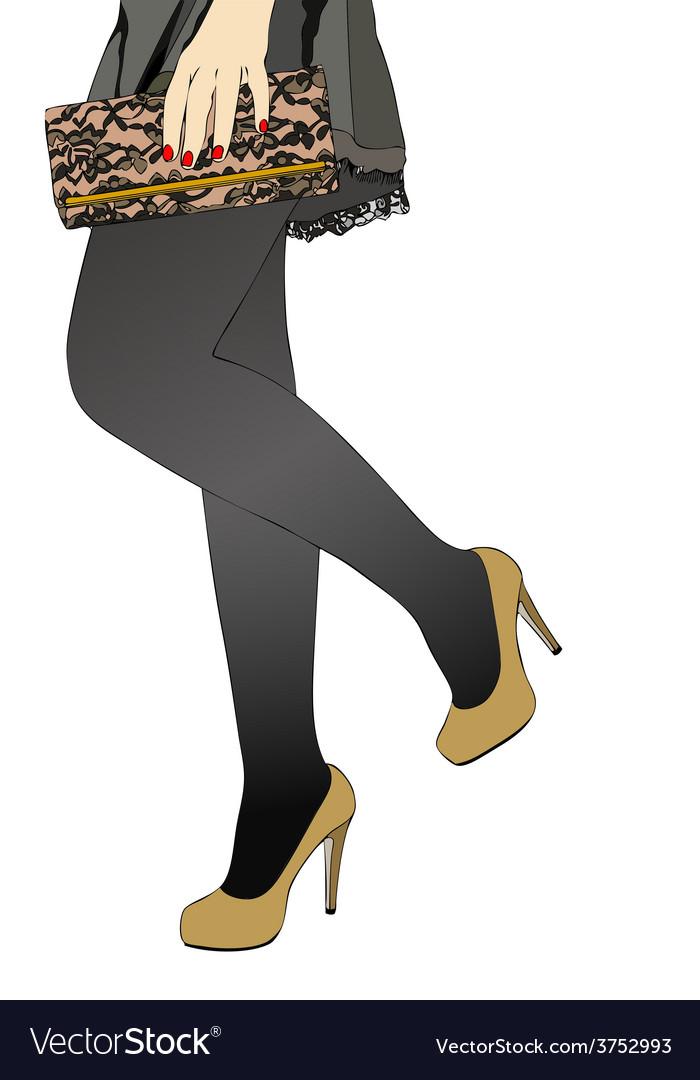 Female elegance vector | Price: 1 Credit (USD $1)