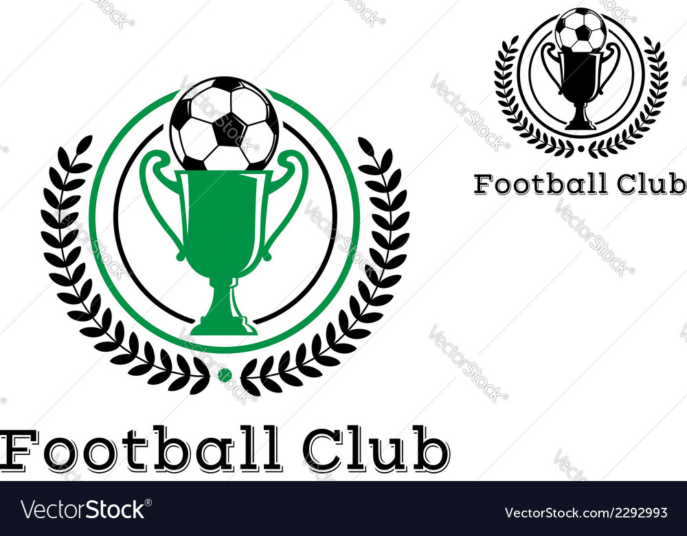Football club championship crests vector | Price: 1 Credit (USD $1)