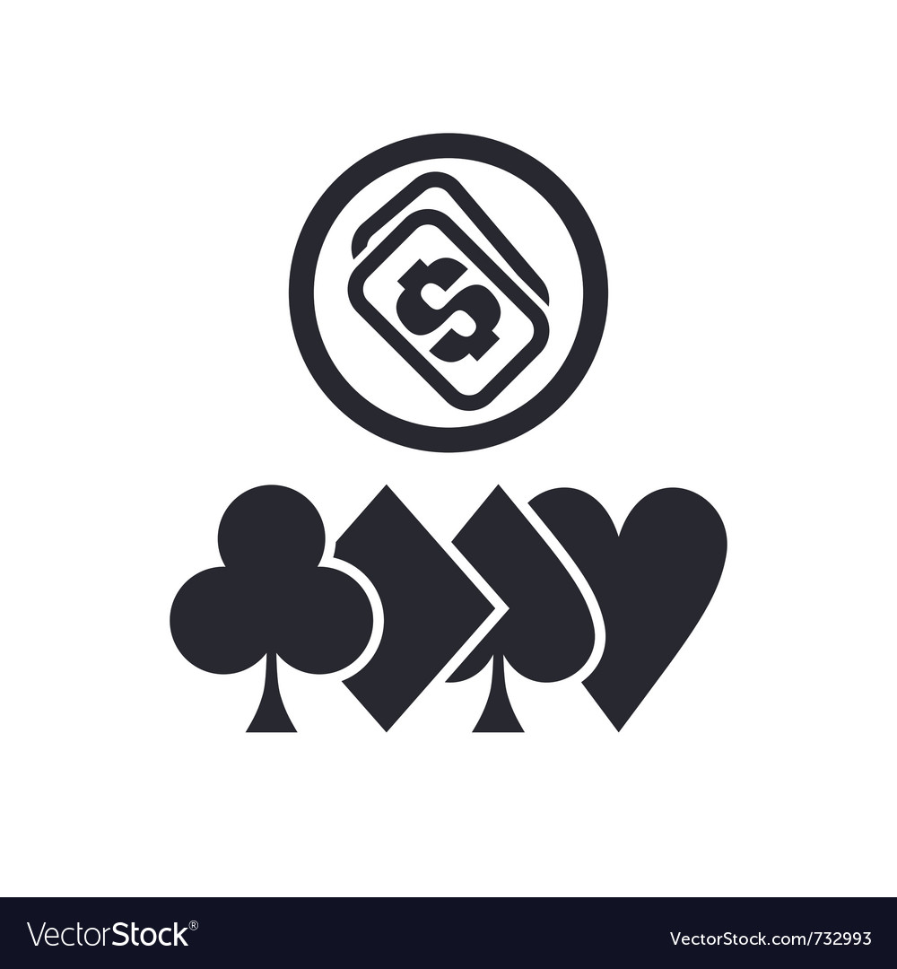 Poker icon vector | Price: 1 Credit (USD $1)