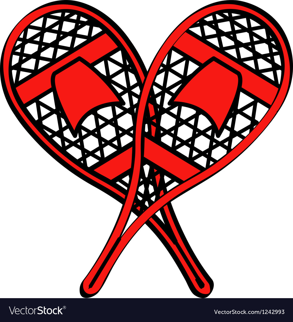 Snow shoes vector   Price: 1 Credit (USD $1)