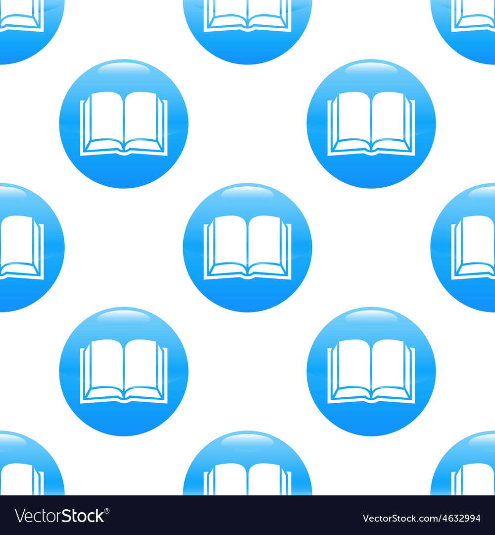 Book sign pattern vector | Price: 1 Credit (USD $1)