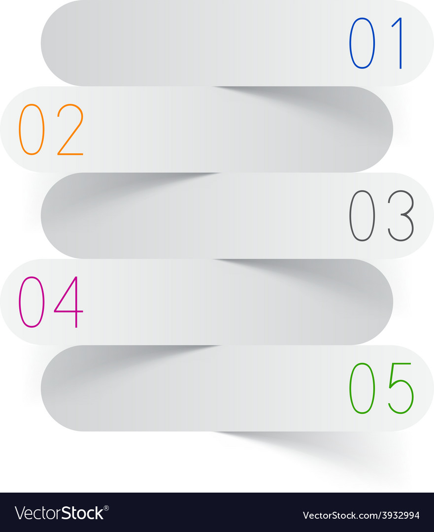 Infographics white paper design vector | Price: 1 Credit (USD $1)