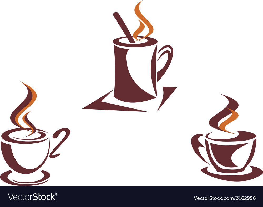 Coffee symbols vector | Price: 1 Credit (USD $1)