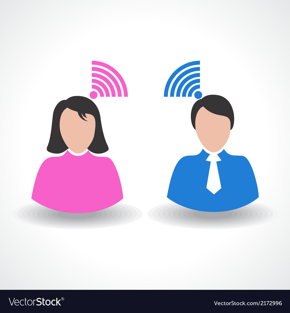 Communication concept connection vector | Price: 1 Credit (USD $1)