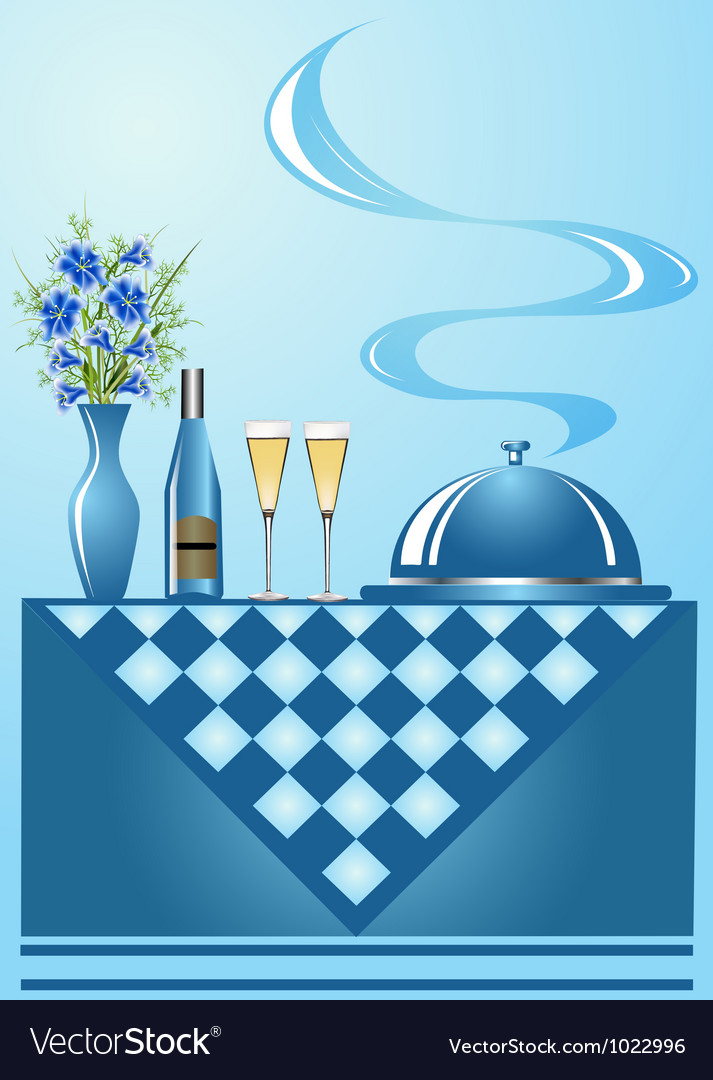 Dinner background vector | Price: 1 Credit (USD $1)