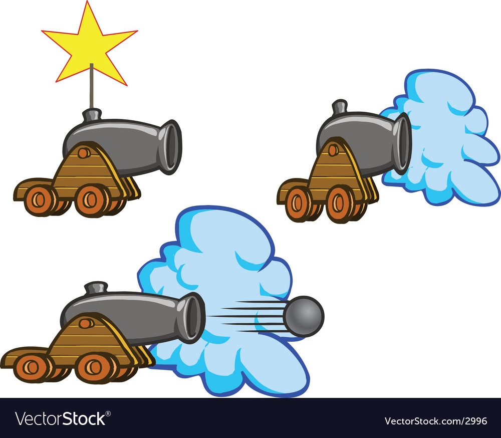 Historical cannon vector | Price: 1 Credit (USD $1)