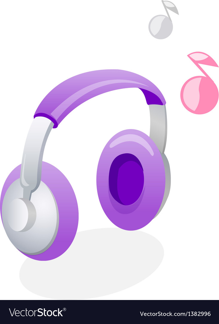Icon headphone vector | Price: 1 Credit (USD $1)