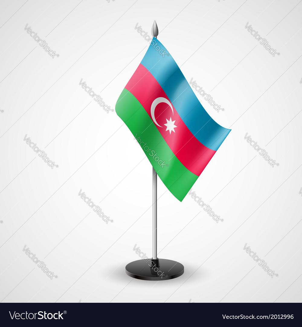 Table flag of azerbaijan vector | Price: 1 Credit (USD $1)