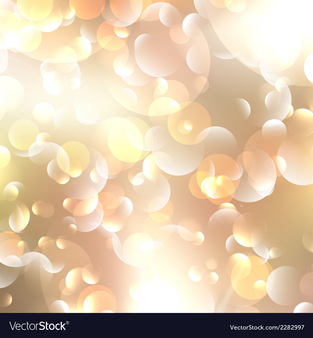 Christmas and new year feast bokeh with copyspace vector | Price: 1 Credit (USD $1)