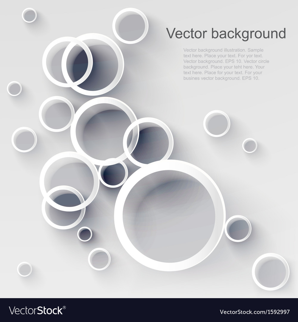 Geometric applique circle background vector | Price: 1 Credit (USD $1)