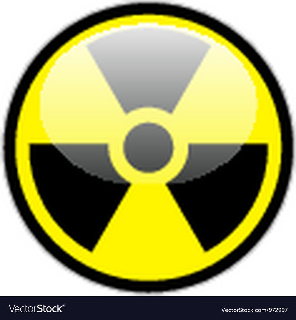 Radiation symbol vector | Price: 1 Credit (USD $1)