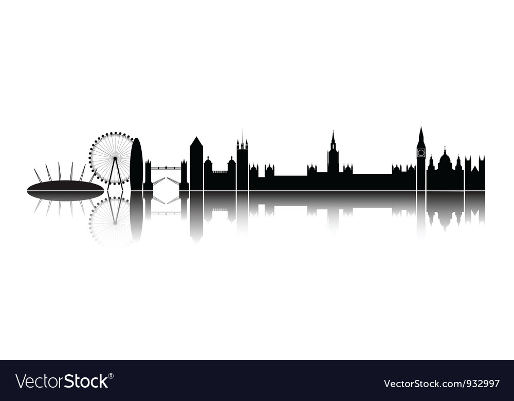 Skyline london city vector | Price: 1 Credit (USD $1)