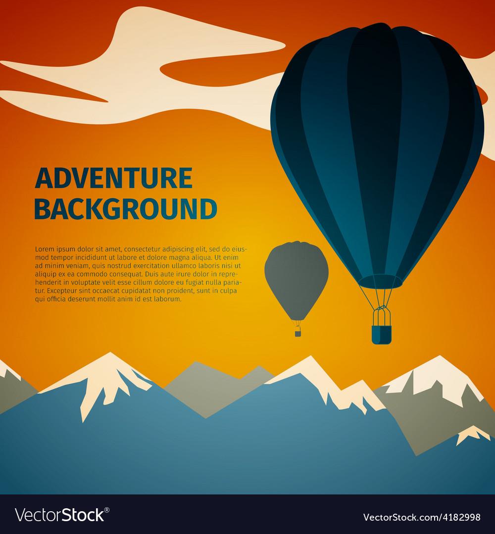 Adventure background vector | Price: 1 Credit (USD $1)