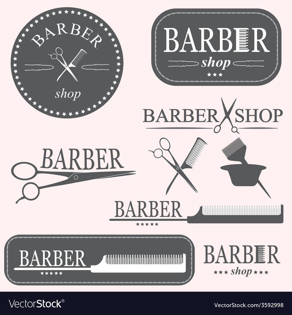 Barber logo vector   Price: 1 Credit (USD $1)
