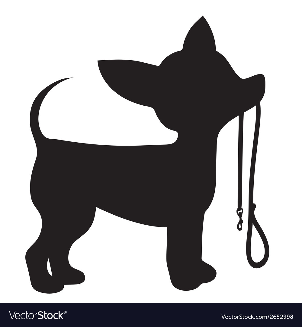 Chihuahua leash vector | Price: 1 Credit (USD $1)
