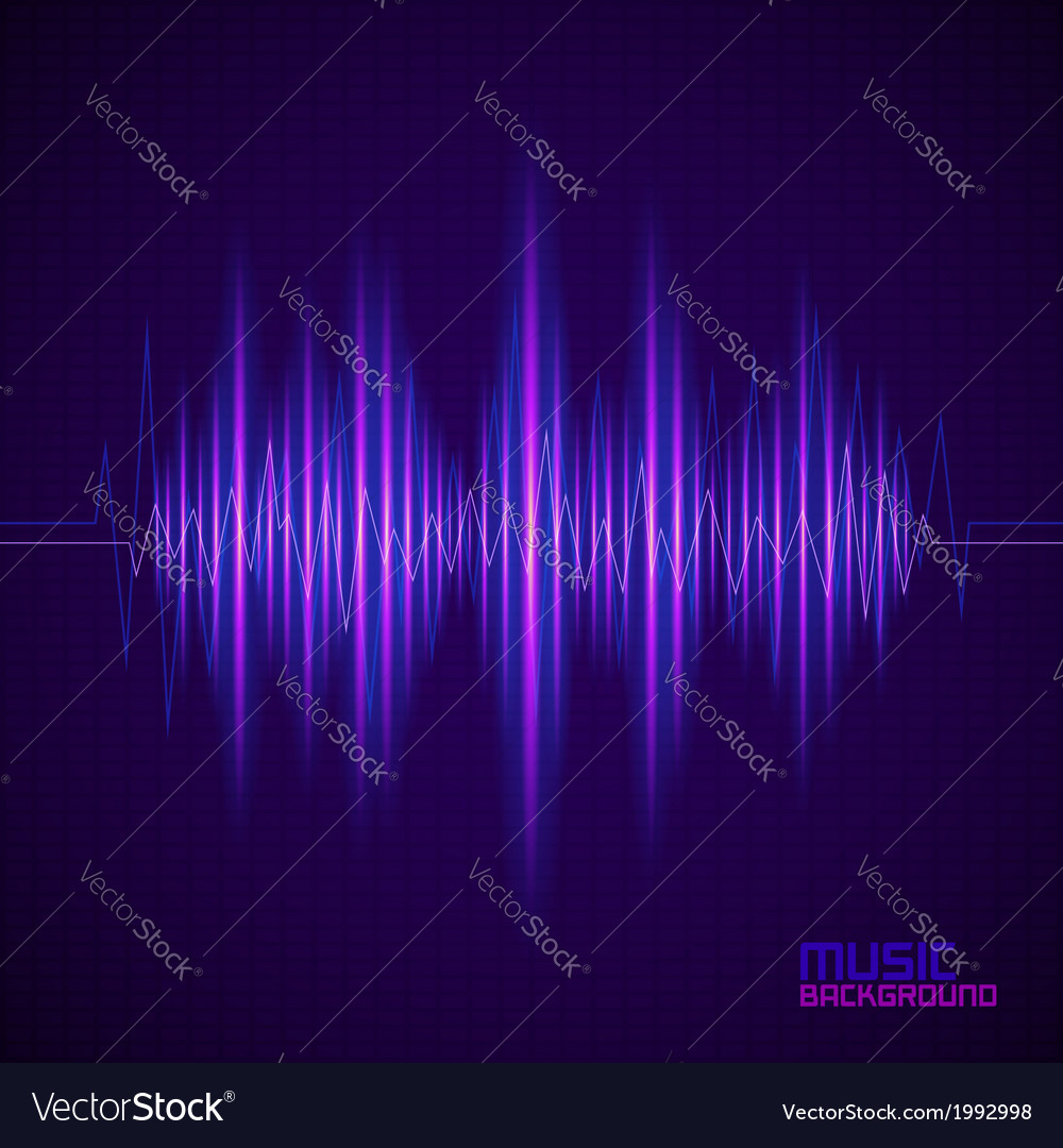 Music background with equalizer vector | Price: 1 Credit (USD $1)