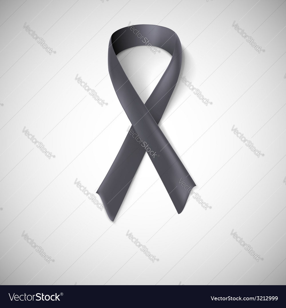 Black ribbon loop vector | Price: 1 Credit (USD $1)