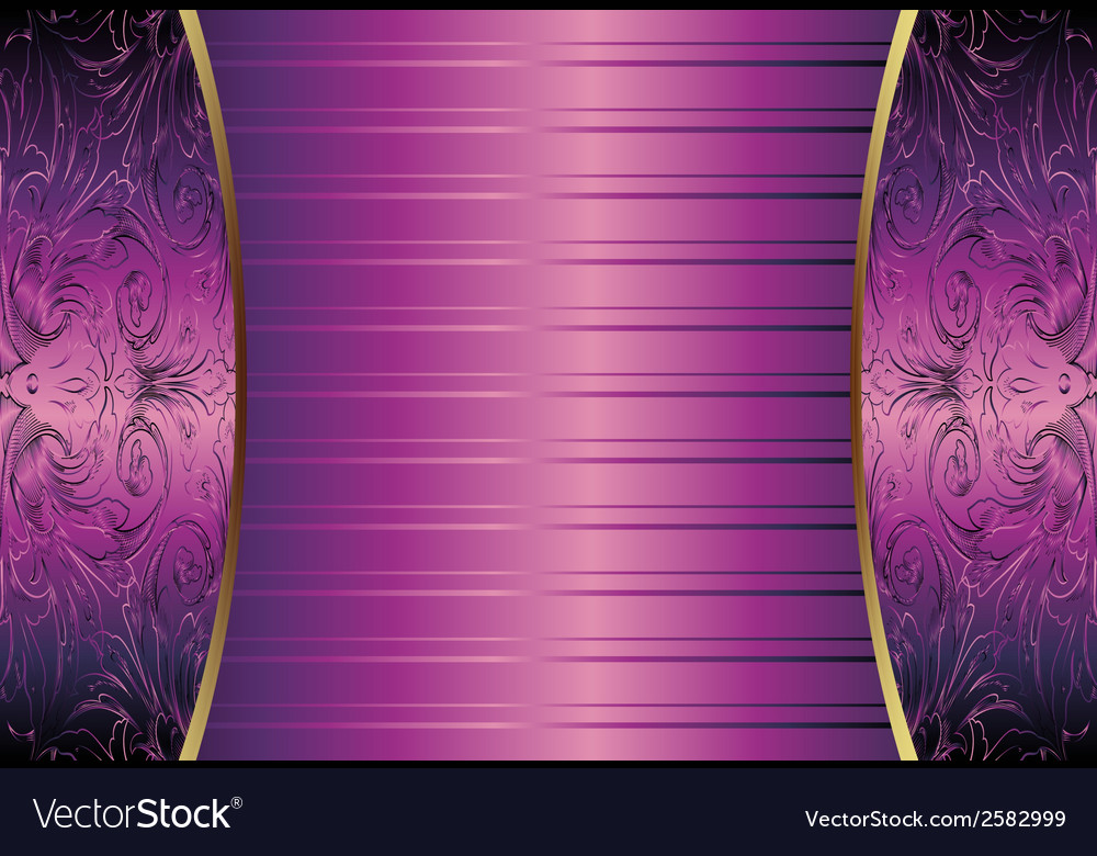 Hand drawn purple abstract background royal vector | Price: 1 Credit (USD $1)