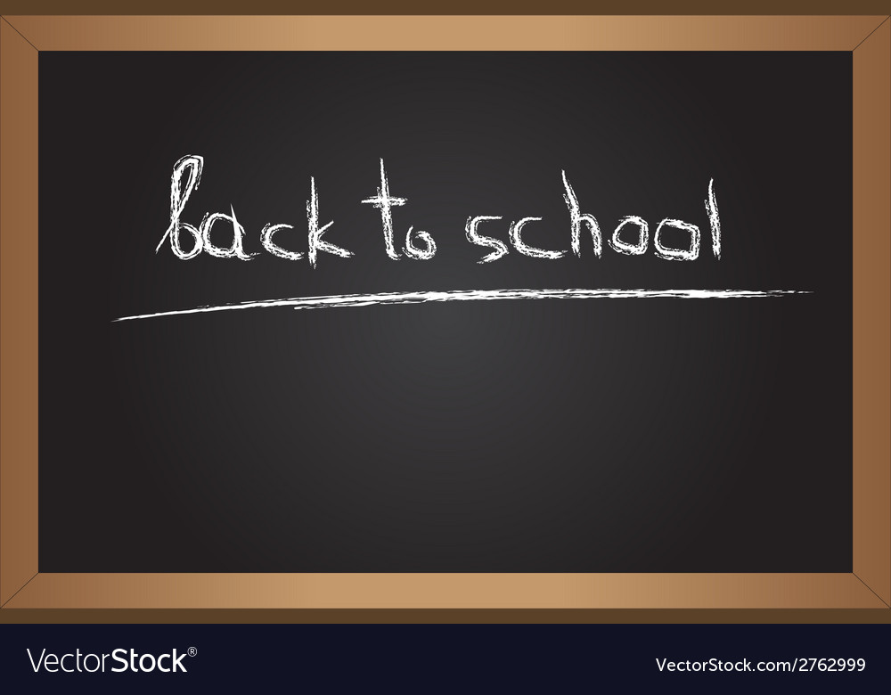 Text on blackboard vector | Price: 1 Credit (USD $1)