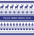 Felice anno nuovo 2014 - italian happy new year vector