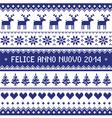 Felice anno nuovo 2014 - italian happy new year vector