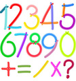 Balloon numbers vector
