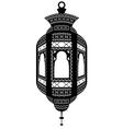 Ramadan fanoos isolated vector