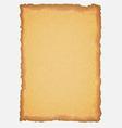 Ancient scroll paper copy vector