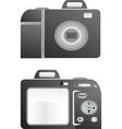 L photo camera vector illustration vector